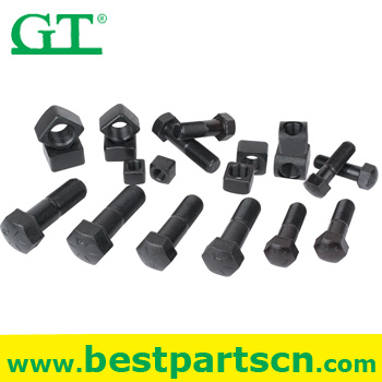 excavator bucket bolt track bolt on bucket teeth