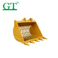 sk350-8 excavator bucket wheel loader bucket komatsu excavator clamshell grab bucket