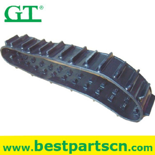 PC30 PC40 PC45 PC60 PC75 excavator rubber tracks