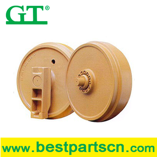 OEM track idler, undercarriage spare parts track idler for DH120, excavator parts DH200 track idler assy