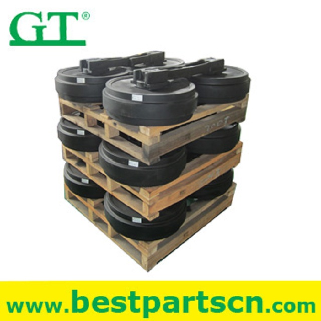 Excavator Spare Parts, Undercarriage Parts for Kobelco SK200-3 Idler 24100N6417F1 Front Idler