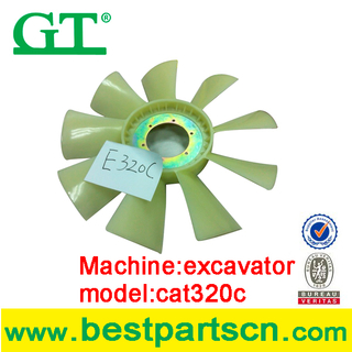 Excavator Kato HD700 Engine Fan cooling engine no.6D31 Industrial Engine cooling fan blade, exhaust fan, fan blower