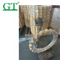 pc120-5 sprocket rim sprocket excavator pc400-7sprocket 81em-10012 undercarriage sprocket