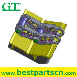 excavator track shoe for E325/E330/E450