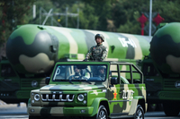 China's strategic deterrents on display